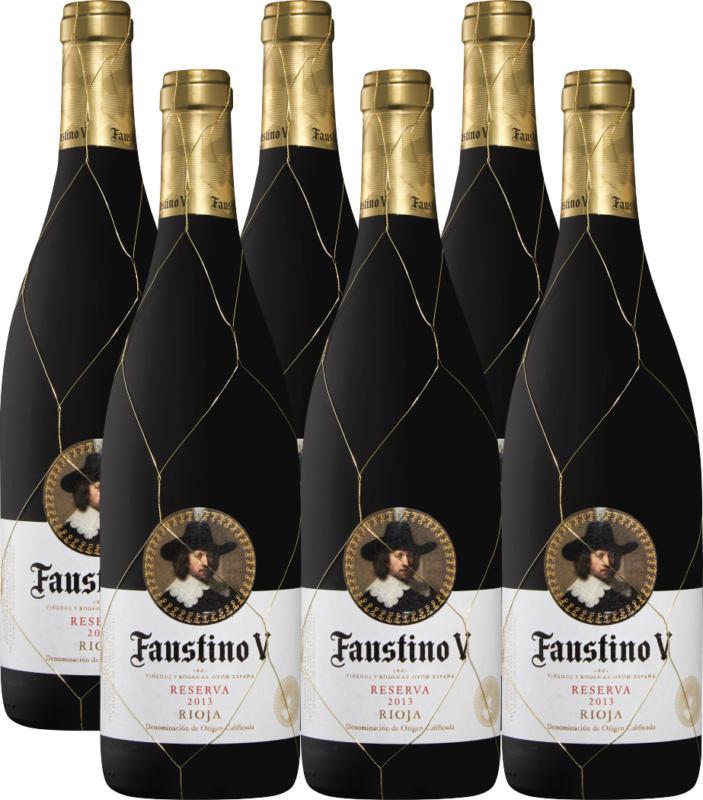 Faustino V Reserva DOCa Rioja, 2016, Rioja, Spagna, 6 x 75 cl