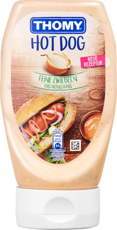 Thomy Sauce Hotdog  , 300 ml