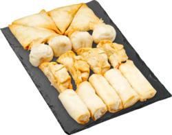 Asia-Snackplatte, assortiert, 602 g