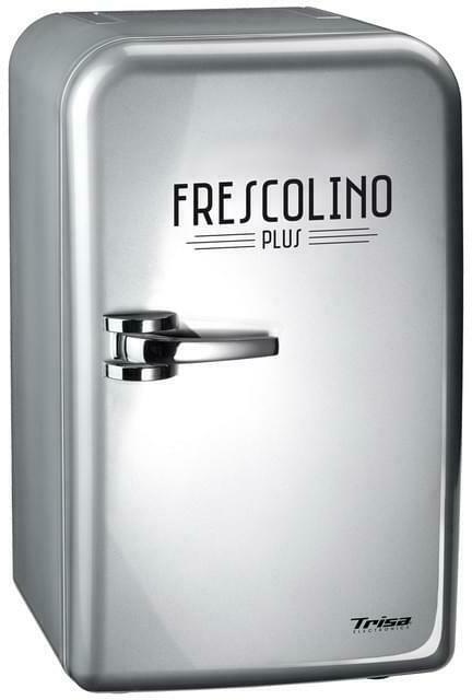 Trisa Frescolino Plus silber Minikühlschrank/Kühlbox