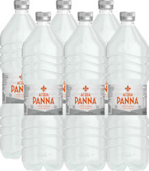 Acqua minerale Acqua Panna , non gassata, 6 x 1,5 litri