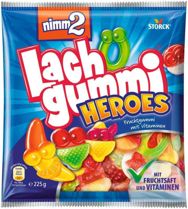 Nimm2 Lachgummi Heroes 225 g -