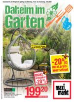 Maximarkt - Daheim im Garten