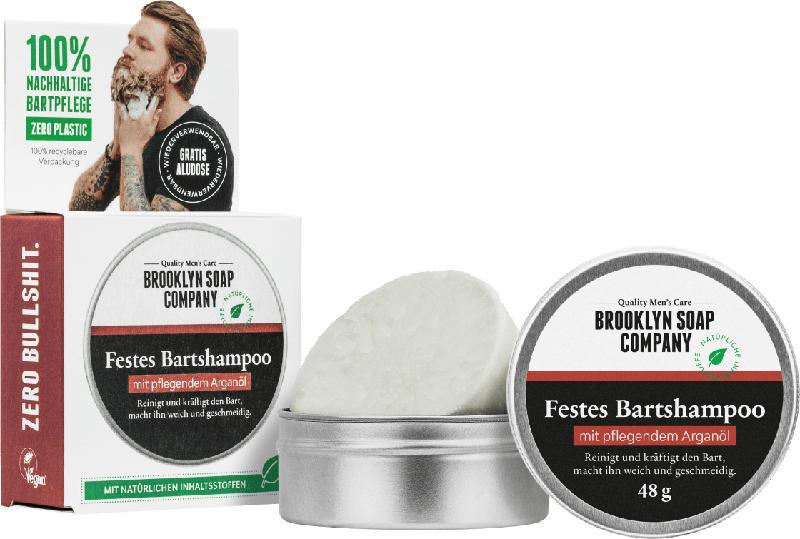 Brooklyn Soap Company festes Bartshampoo