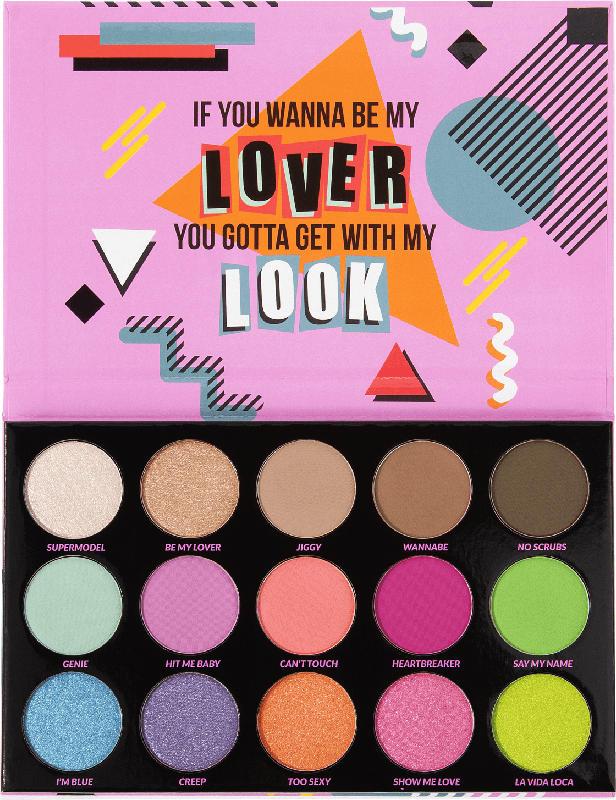 BH Cosmetics Lidschattenpalette Remix Dance 90's- 15 Farben