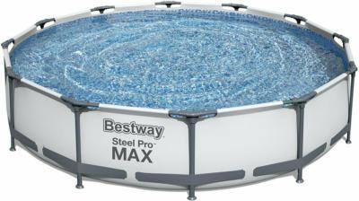Bestway Stahlrahmenpool-Set Steel Pro Max Ø 366 cm x 76 cm Rund
