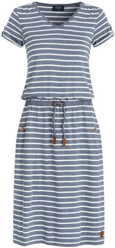 Damen Kleid im Streifen-Dessin (Nur online)