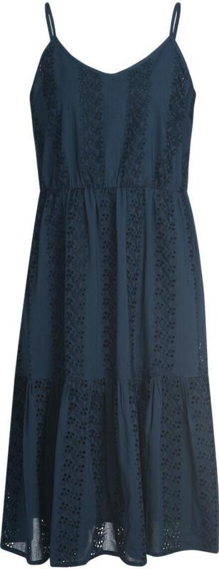 Damen Kleid mit Lochstickerei (Nur online)
