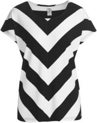 Damen T-Shirt mit diagonalen Streifen (Nur online)