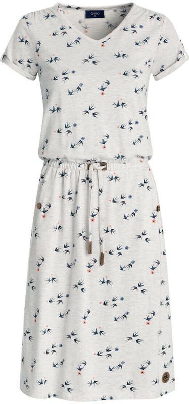 Damen Kleid mit Schwalben-Motiv (Nur online)