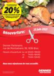 Denner Wiedereröffnung - au 03.07.2021