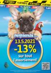 Petfriends.ch Offres Petfriends - bis 13.05.2021