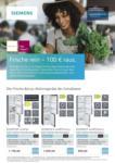 Siemens Frische rein – 100 € raus. - bis 10.06.2021