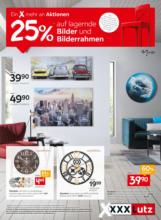 XXXLutz Flugblatt - Bilder und Bilderrahmen