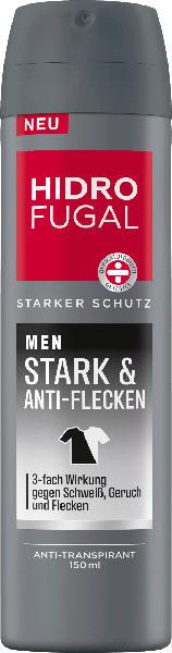 Hidrofugal Men Deospray Stark + Anti-Flecken