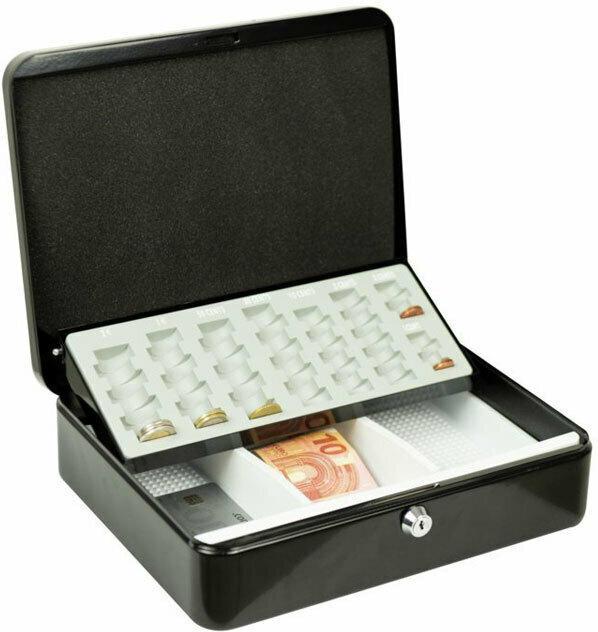 "Geldkassette ""ZK Money 5030 Euro"", 30x9x24 cm, grau"
