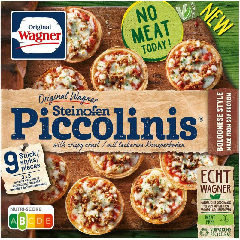 Wagner Piccolinis Bolognese Style Vegetarisch