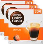 Denner Capsules de café Lungo Nescafé Dolce Gusto, 3 x 30 capsules - au 24.05.2021