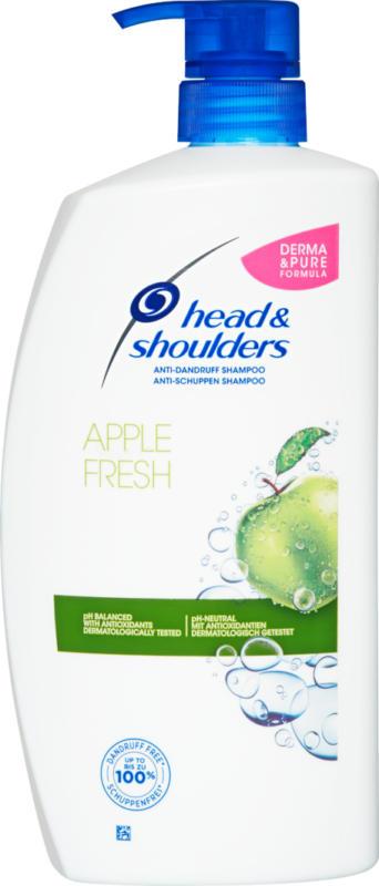 Head & Shoulders Antischuppen Shampoo , Apple Fresh, 900 ml