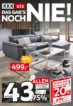 XXXLutz Pallen - Ihr Möbelhaus in Würselen XXXLutz DAS GAB'S NOCH NIE! - bis 16.05.2021