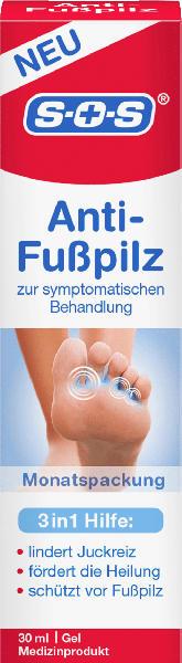 SOS Anti-Fußpilz Gel