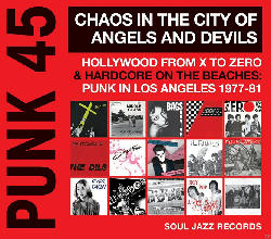 VARIOUS - Punk 45: Chaos In The City Of Angels And Devils (LP) [Vinyl]