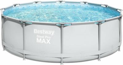 Bestway Stahlrahmen-Pool Steel Pro Ø 366 cm x 100 cm
