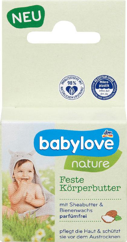 babylove nature Feste Körperbutter