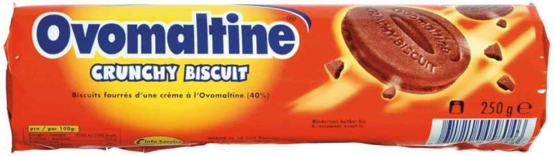 Ovomaltine Crunchy Biscuit, 250 g -
