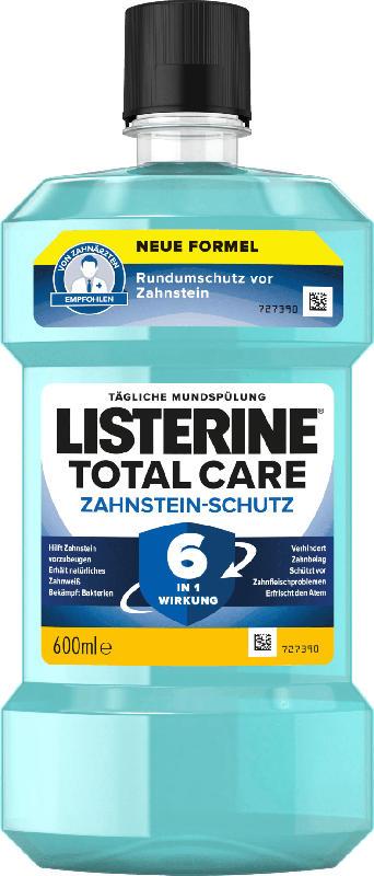 Listerine Mundspülung Total Care Zahnstein-Schutz