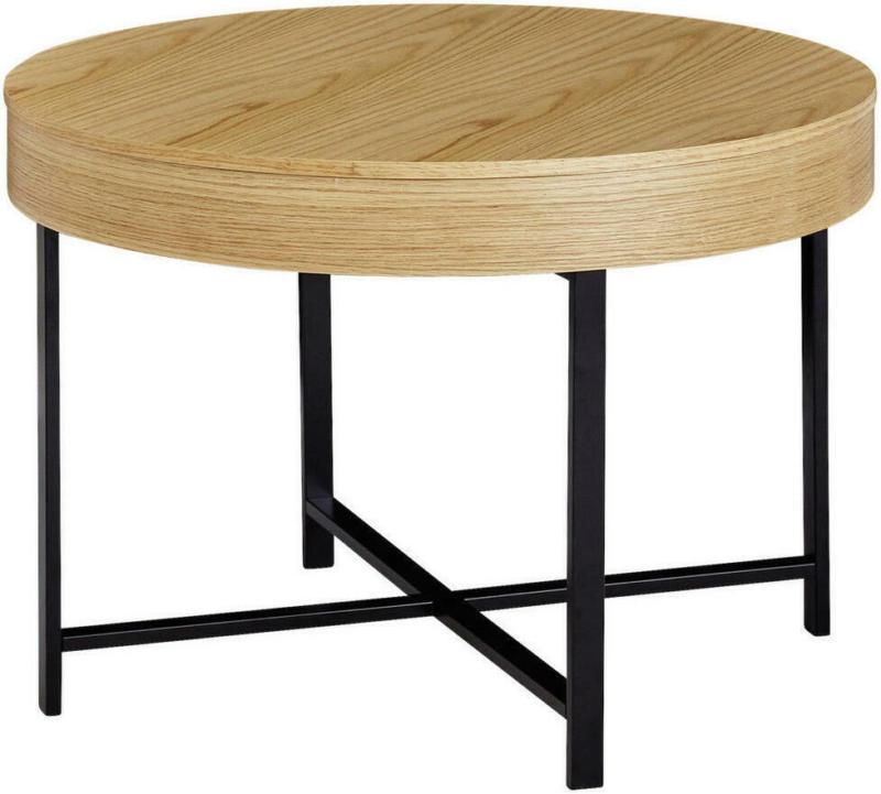 Couchtisch in Holz, Holzwerkstoff 69/69/49 cm