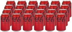 Coca-Cola Zero Zucker 24 x 33 cl -