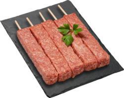 Brochette BBQ Black Angus IP-SUISSE, assaisonnée, 5 x 60 g