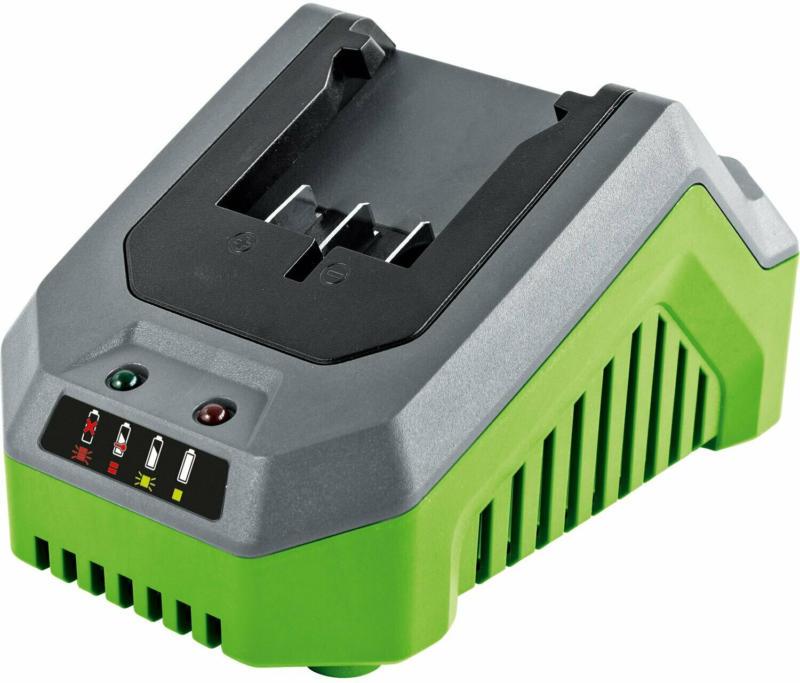 LUX 1 PowerSystem Starter-Set mit 20 V 2 Ah Li-Ion Akku und Schnellladegerät