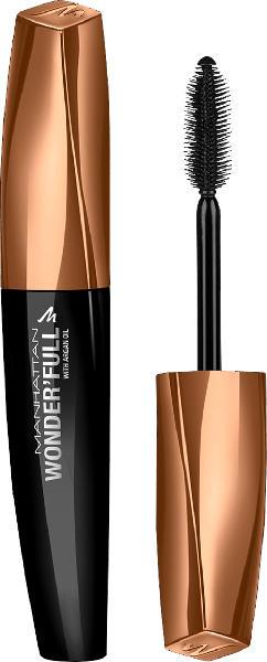 MANHATTAN Cosmetics Wimperntusche Wonder'full Brown Black 002