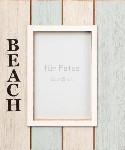 Dekorieren & Einrichten Holzbilderrahmen 'Beach' (10x15cm)