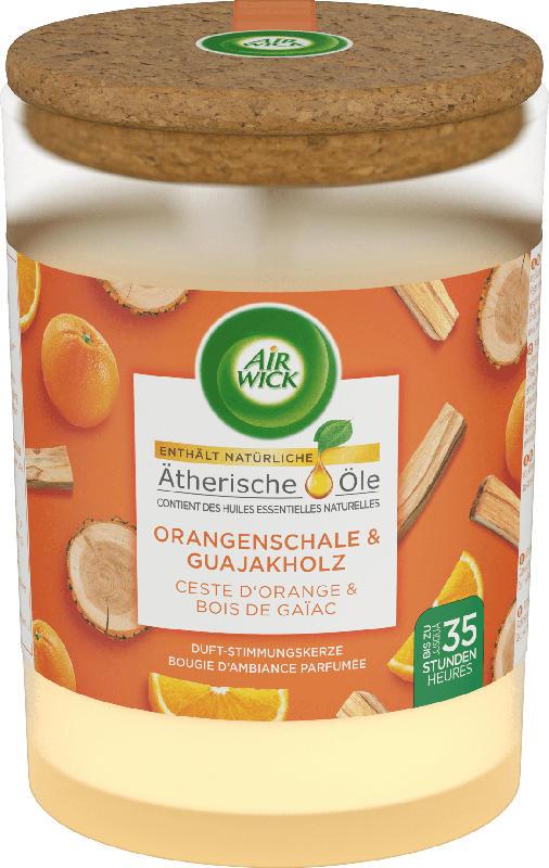 AirWick Duftkerze Orangenschale & Kaminholz