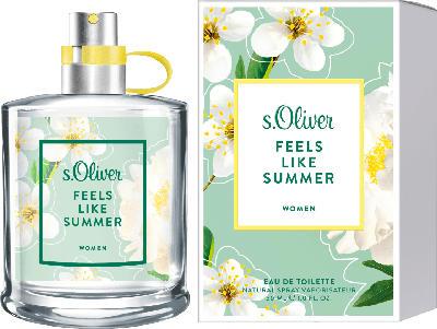 s.Oliver Eau de Toilette feels like summer