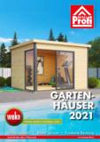 BauProfi Gartenhäuserkatalog 2021