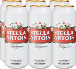 Birra Stella Artois , 6 x 50 cl