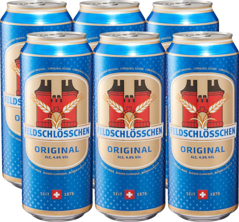Bière Original Feldschlösschen, 50 cl