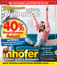 Möbel Inhofer - Willkommen zurück im Wohnglück