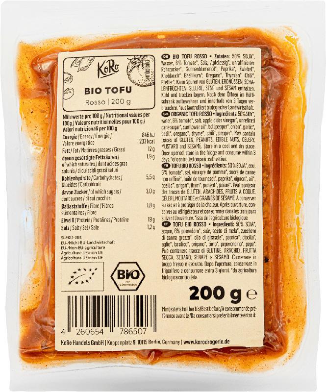 KoRo Tofu Rosso