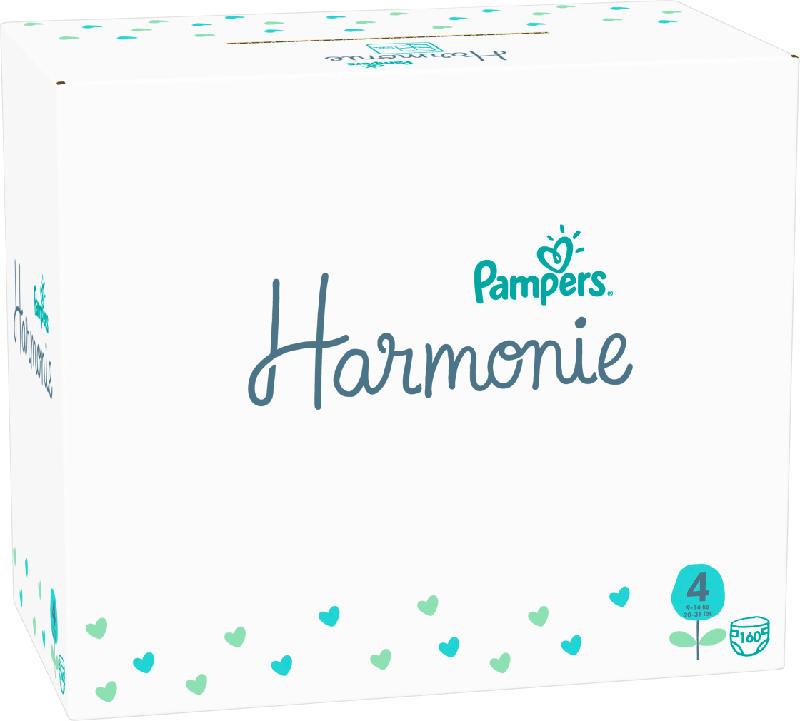 Pampers Windeln Harmonie Gr.4 Maxi, 9-14kg, Monatsbox