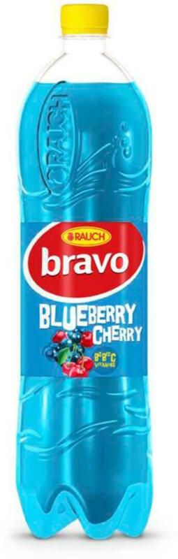 Rauch Bravo Blueberry-Cherry