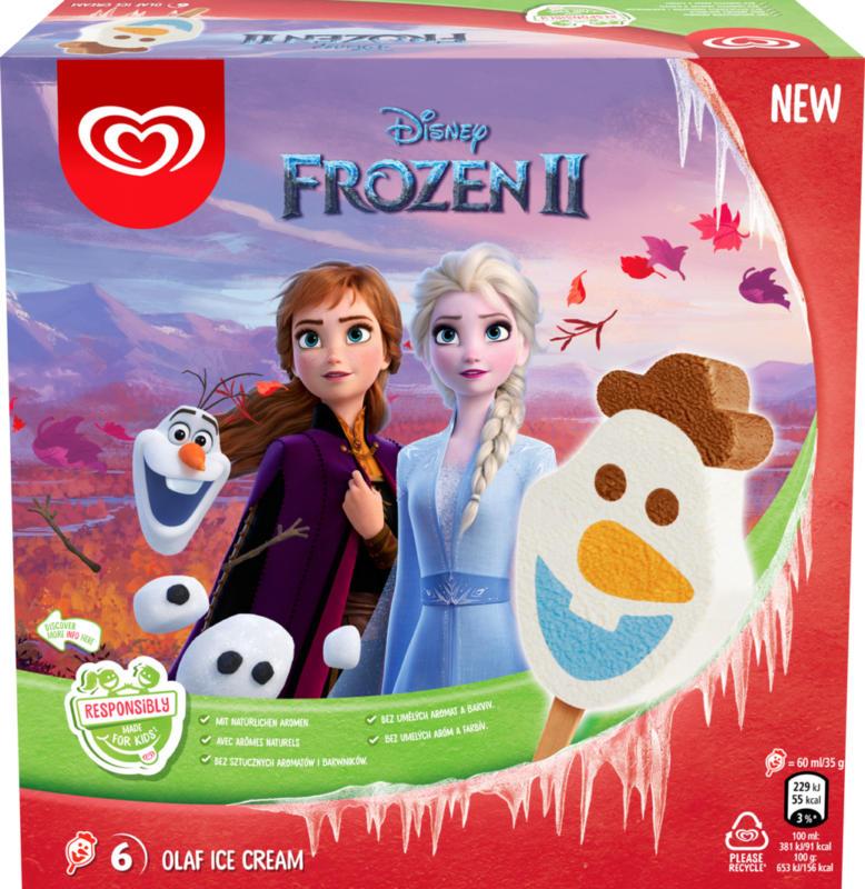 Lusso Glacé Disney Frozen II Olaf , 360 ml