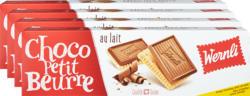 Biscotti Choco Petit Beurre au lait Wernli, 4 x 125 g