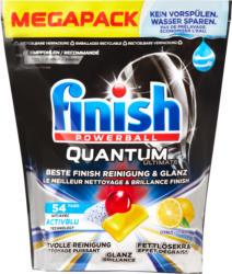 Pastiglie lavastoviglie Quantum Ultimate Lemon Finish, 54 pastiglie