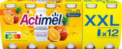 Danone Actimel Joghurtdrink, Multifrucht, probiotisch, 12 x 100 ml