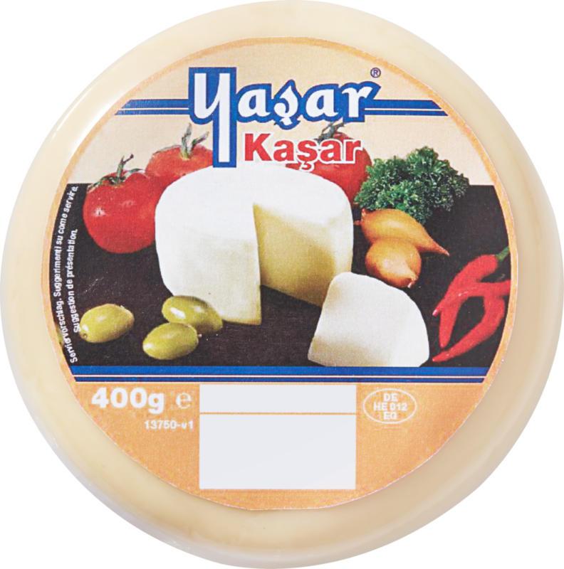 Pasta Filata Kashkaval Yaşar, Fromage à pâte mi-dure, 400 g